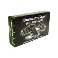 .223 REMINGTON 55 GRAIN FEDERAL AE #AE223J (500 ROUNDS)