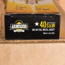 .40 S&W ARMSCOR 180 GRAIN FMJ (50 ROUNDS)