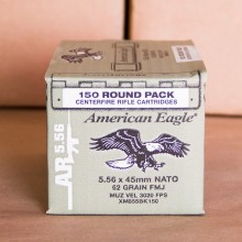 5.56 NATO FEDERAL LAKE CITY M855 62 GRAIN FMJ (150 ROUNDS)