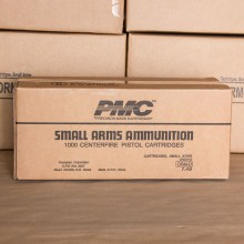 .40 S&W PMC BRONZE 180 GRAIN FMJ (1000 ROUNDS)