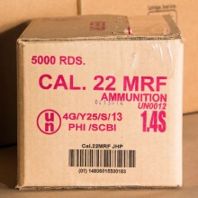 22 MAGNUM ARMSCOR 40 GRAIN JHP (500 ROUNDS)