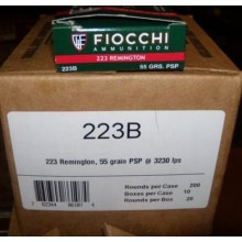 .223 REMINGTON FIOCCHI 55 GRAIN PSP (200 ROUNDS)
