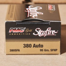 .380 ACP PMC STARFIRE 95 GRAIN JHP (20 ROUNDS)