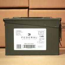 5.56x45MM FEDERAL 55 GRAIN XM193 FULL METAL JACKET (420 ROUNDS)