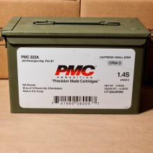 .223 REMINGTON PMC AMMO CAN 55 GRAIN FMJ-BT (840 ROUNDS)
