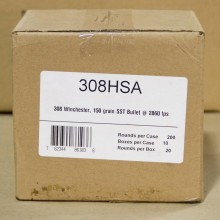 308 WIN FIOCCHI EXTREMA 150 GRAIN SST POLYMER TIP (200 ROUNDS)