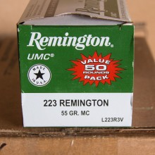 .223 REMINGTON UMC VALUE PACK 55 GRAIN MC (50 ROUNDS)