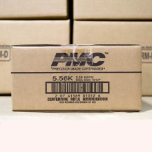 5.56x45MM PMC X-TAC GREEN TIP NATO 62 GRAIN FULL METAL JACKET (1000 ROUNDS)