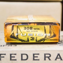 .308 WIN. FEDERAL FUSION 180 GRAIN (20 ROUNDS)