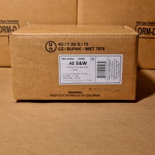 .40 S&W SELLIER & BELLOT 180 GRAIN FMJ (1000 ROUNDS)